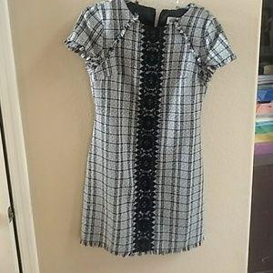 Eliza J dress tweed dress